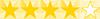 stars 4 yellow - RESIDENCIA UNIVERSITARIA EN RECOLETA
