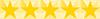 stars 5 yellow - RESIDENCIA UNIVERSITARIA EN RECOLETA
